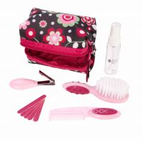 Kit Completo de Higiene com Estojo Rosa - Safety 1st